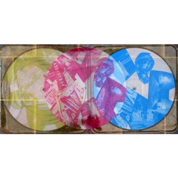 Robert Rauschenberg Talking Heads Art Vinyl - Image 3 of 4