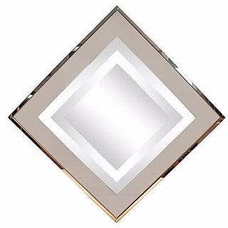 Modernist Framed Silvered Mirror
