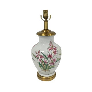 Maitland-Smith Tropical Orchid Flower Lamp