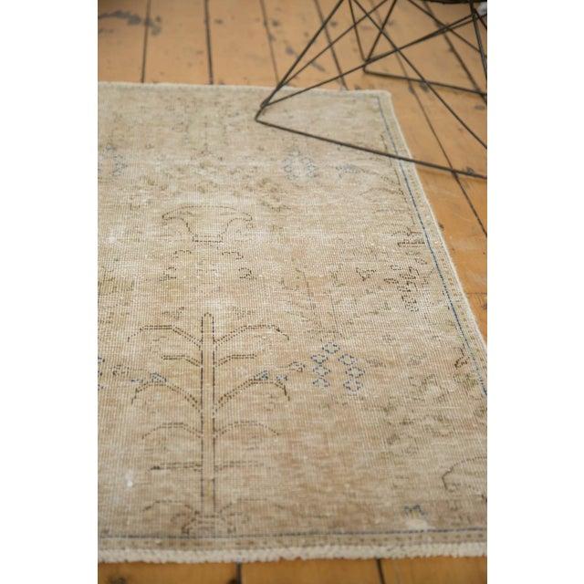"Vintage Distressed Meshed Rug - 2'5"" X 4'3"" - Image 6 of 10"