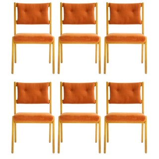 Set of Jens Risom Dining Chairs