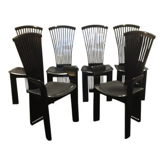 Vintage Amp Used Black Dining Chairs Chairish