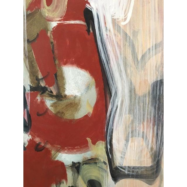 Ranieri Abstract Oil on Masonite Painting - Image 3 of 5