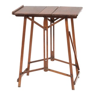 Victorian Metamorphic Artist's Folding Table