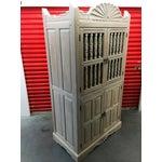 Image of Southwest Style Solid Wood Wardrobe