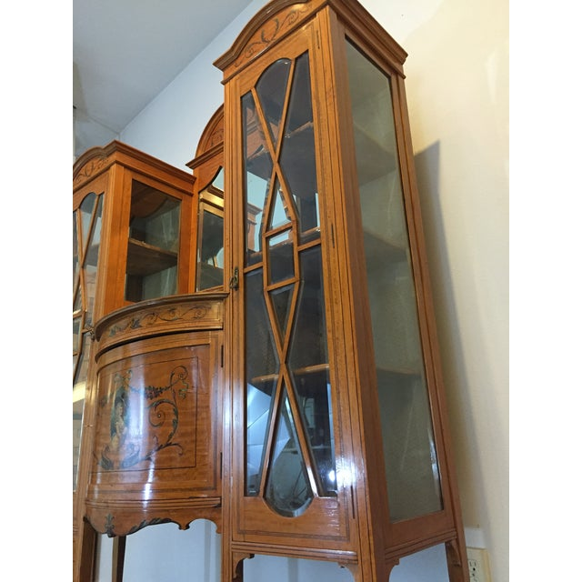 Antique European Display Hutch - Image 4 of 11