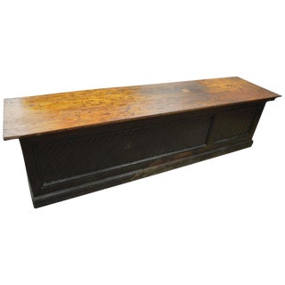 Late 1800s Hardware Store Counter Bar