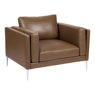 Elite Leather Contemporary Chair