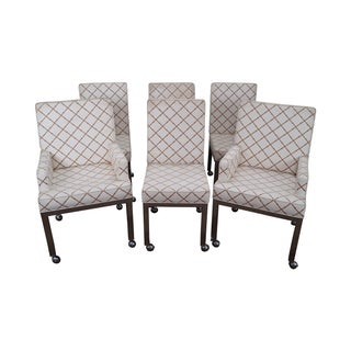 M. Baughman Mid Century Dining Chairs - Set of 6