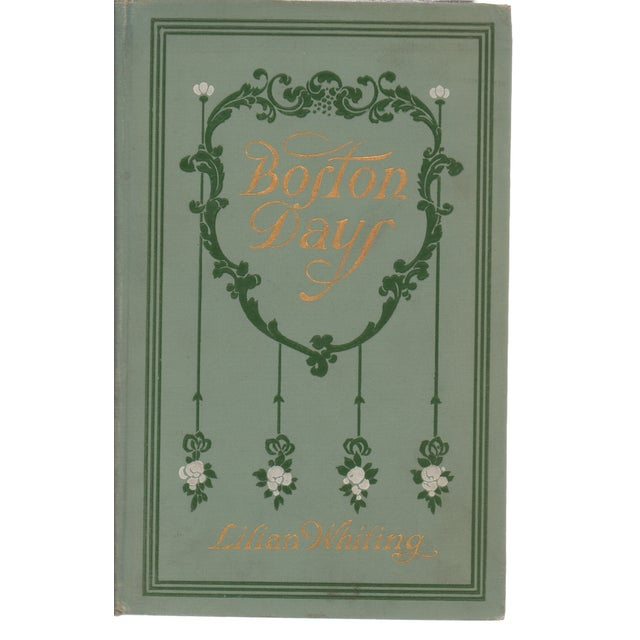 Image of Boston Days Book by Lilian Whiting