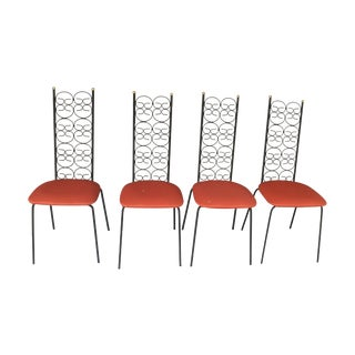 Arthur Umanoff Grenada Dining Chairs - Set of 4
