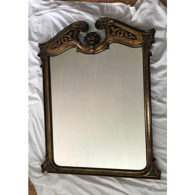Antique Ebonized Giltwood Mirror - Image 2 of 11