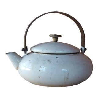 Vintage Rustic Tea Pot