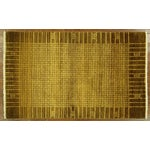 """Image of Oriental Traditional Oushak Rug - 4'1"""" x 5'7"""""""