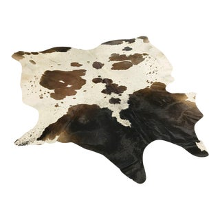 Tri-Color Speckled Cowhide Rug - 7′4″ × 7′10″
