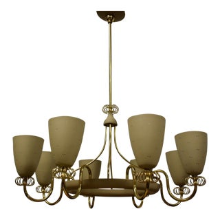 Paavo Tynell for Lightolier Chandelier