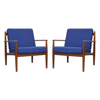Grete Jalk for France & Son Lounge Chairs - A Pair