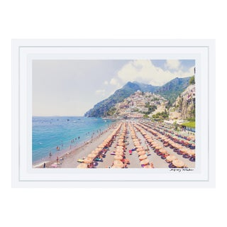 "Framed ""Positano Vista"" Signed Print"