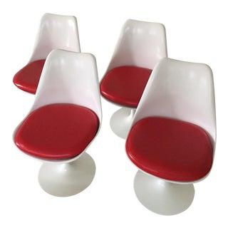 Saarinen Knoll Tulip Armless Chair - Set of 4 Chairs