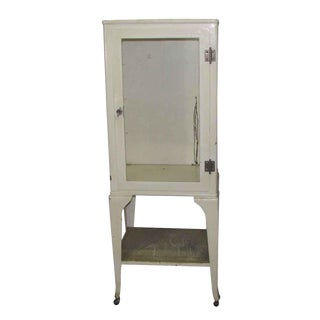 Vintage Medical Cabinet on Wheels