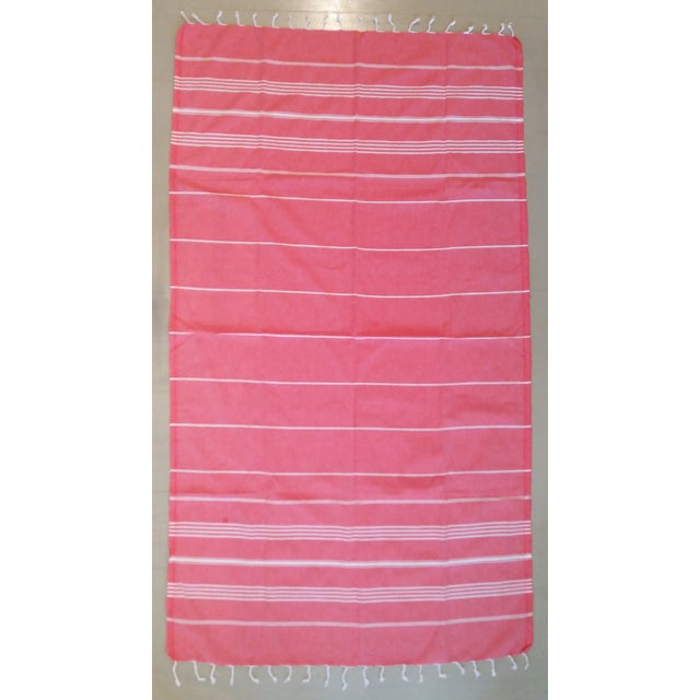 Strawberry Fisherman Striped Towalla Towel - Image 2 of 7