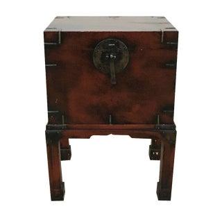 Vintage Asian Storage Side Table