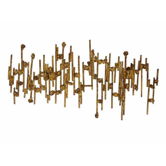 Brutalist Spanish Wall Sculpture - Image 1 of 8