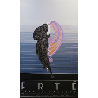 1982 Erté Poster, Circle Gallery