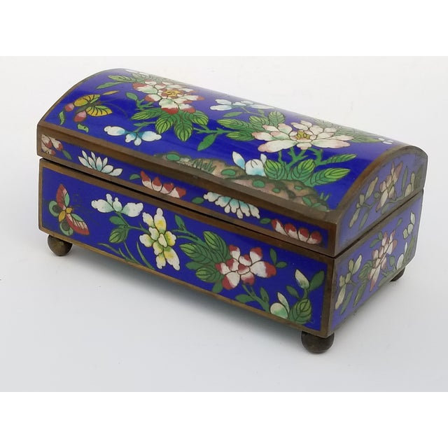 Antique Chinese Cloisonne Box - Image 2 of 11