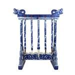 Image of Blue & White Ceramic Calligraphy Brush Set