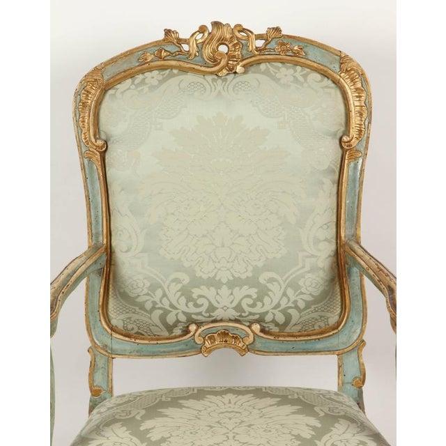 Fine Venetian Rococo Arm Chair - Image 3 of 9