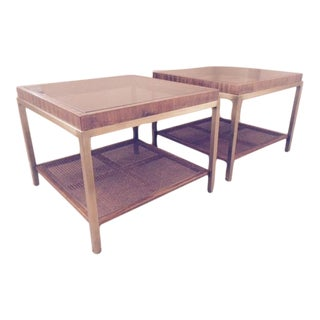 Vintage Drexel Coffee Tables - Pair