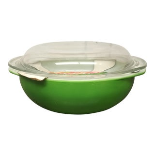 Vintage Lime Green Pyrex Casserole Dish, New with Tag