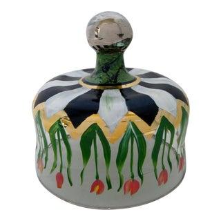 Mackenzie Childs Tulip Glass Cloche