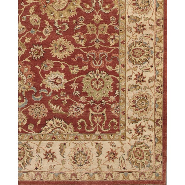 """Pasargad Agra Collection Rug - 7'11"""" X 9'11"""" - Image 2 of 2"""