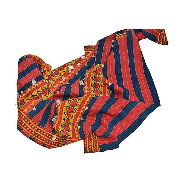 Image of Vintage Philippine Kalinga Tribal Blanket