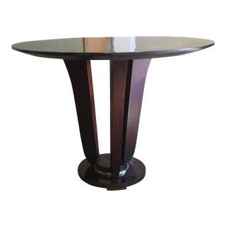 Art Deco Wood Table