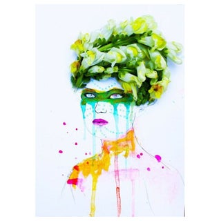 Issa Abou-Issa Fashion Illustration - Portrait II