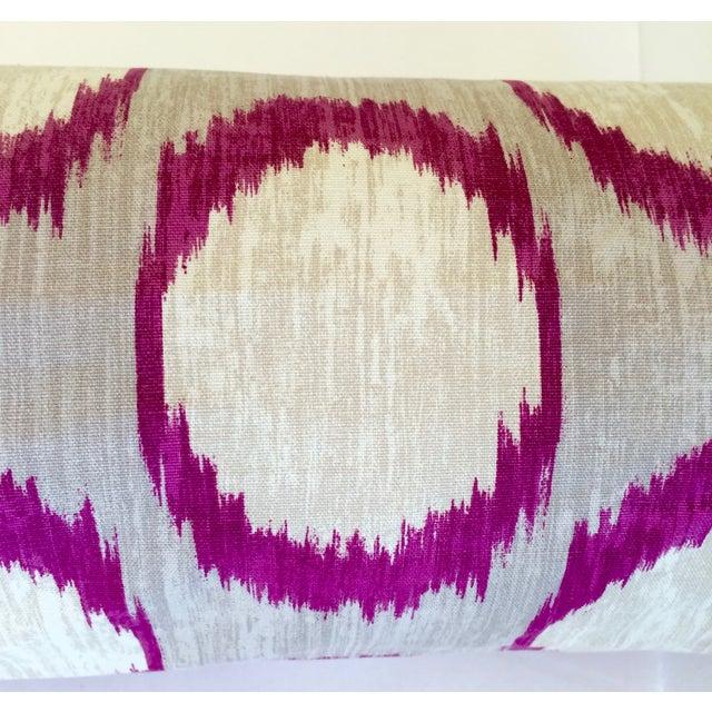 Image of Braemore Ikat Bolster Pillow
