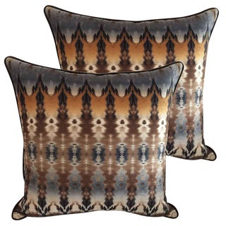 Custom Down Feather Designer Pillows - Set of 2