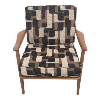 Baumritter Vintage Danish Style Lounge Chair