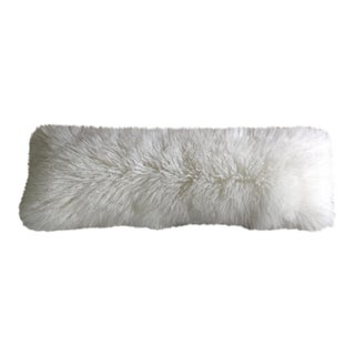 Mongolian Fur Lumbar Pillow