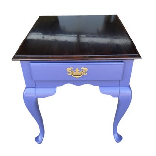 Purple Refnished Nightstand