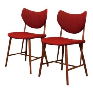 Ib Kofod Larsen Teak Chairs - A Pair