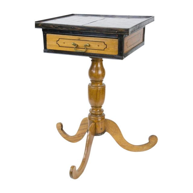 19th Century Italian Walnut Game Table - Image 1 of 9