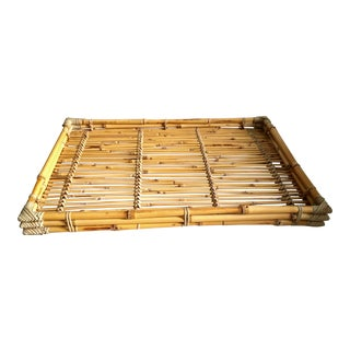 Natural Bamboo Tray