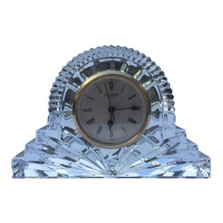 Waterford Crystal Cottage Clock