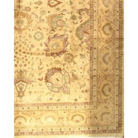 """Pasargad NY Sultanabad Design Hand-Knotted Rug - 9'2"""" x 12' - Image 2 of 2"""