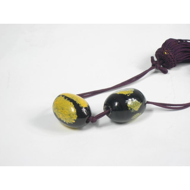 Chinese Wine and Yellow Tassels - A Pair - Image 3 of 3