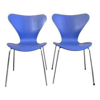 Arne Jacobsen Series 7 Chairs - A Pair